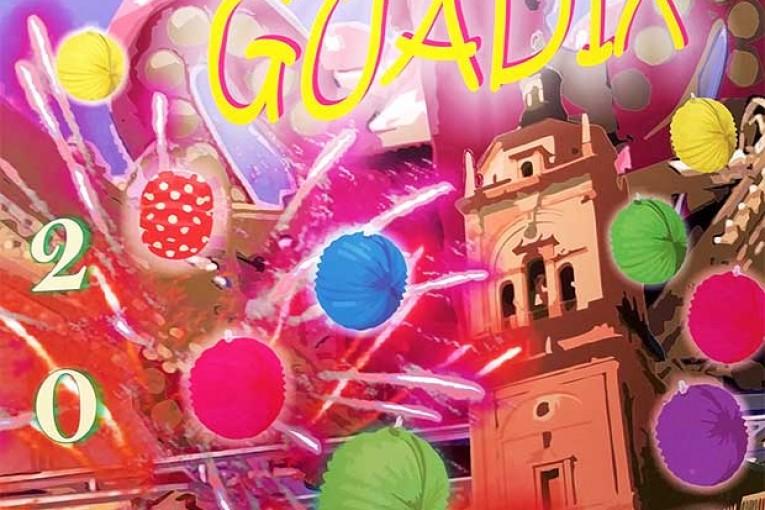 Cartel de Feria y fiestas de Guadix 2015