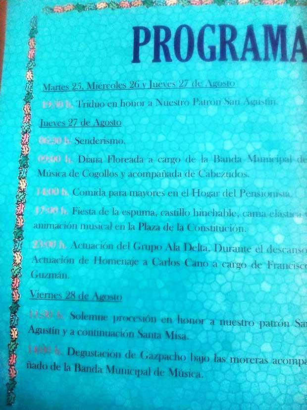 Fiestas Cogollos de Guadix 2015