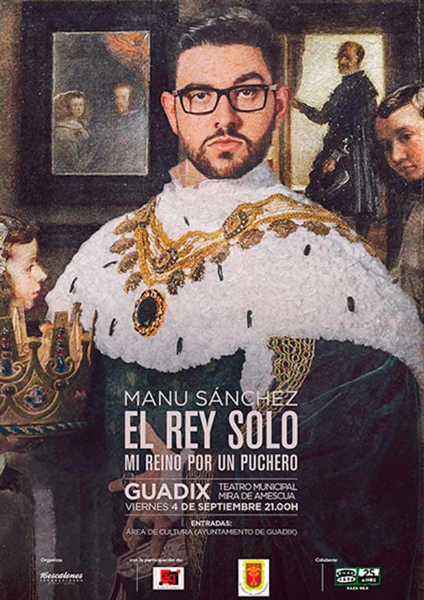 Manu Sanchez el Rey solo en Guadix