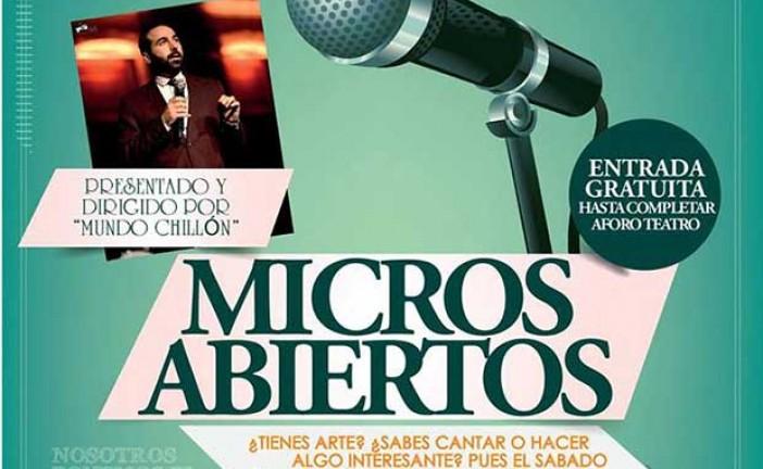 Noche de micros abiertos en Guadix – 15 de agosto