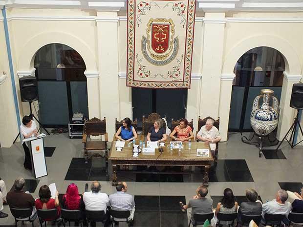 Presentación libro Mª Jesús Ortiz Moreiro