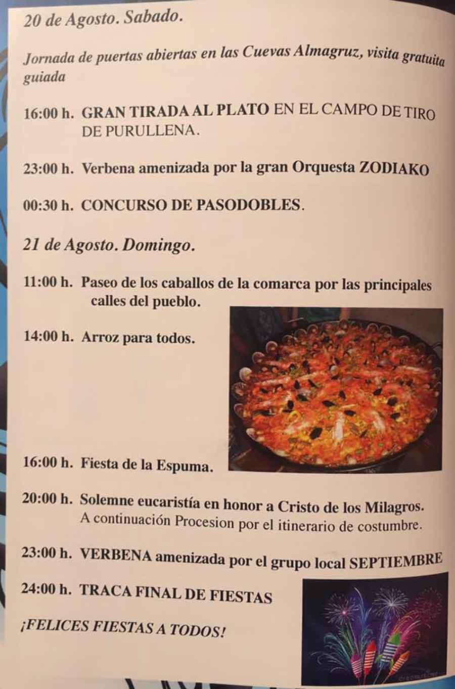 Fiestas Purullena 2016