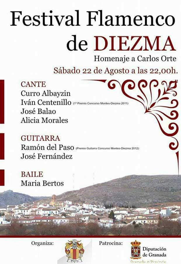 Velada flamenca en Diezma