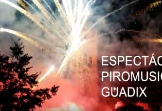 El Ayuntamiento de Guadix felicita a la pirotecnia accitana Mª Angustias Pérez por el maravilloso espectáculo piromusical [Vídeos]