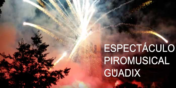 Espectaculo piromusical Guadix