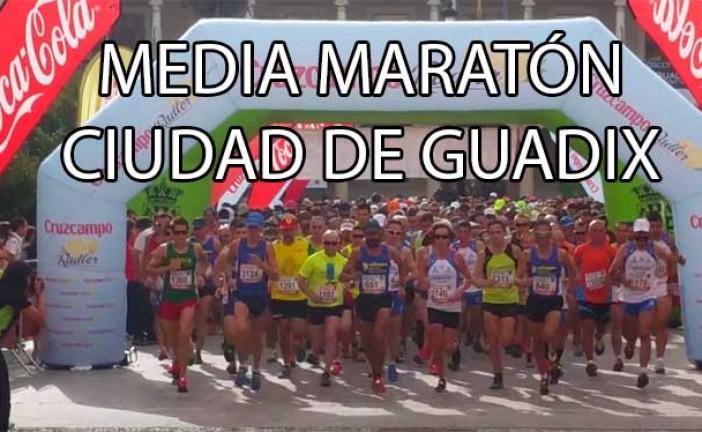 XXX Carrera del Melocotón y 8ª Media Maratón Ciudad de Guadix con casi 1.000 runners [9 vídeos]