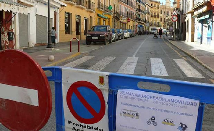 Semana Europea de la Movilidad en Guadix [Vídeo]