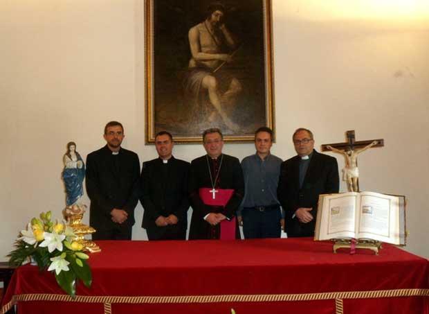 Vicarios diocesis de Guadix