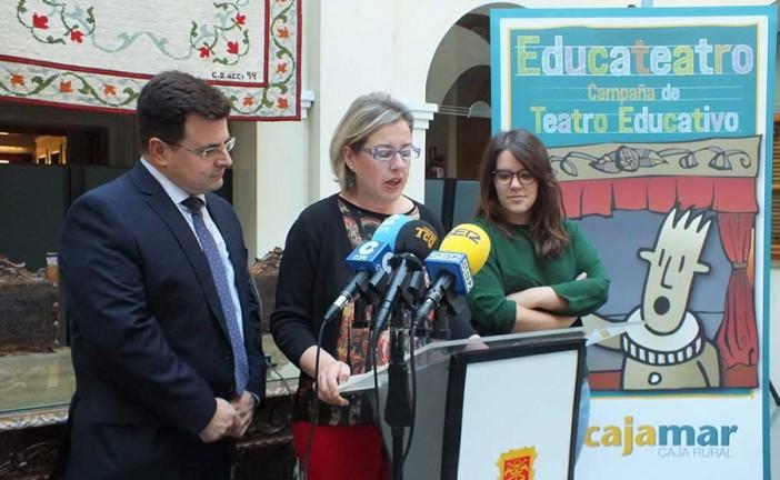 Educateatro una apuesta de Cajamar y el Ayuntamiento de Guadix para acercar el teatro a los escolares