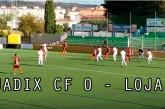Guadix CF empata ante el Loja en un partido sin goles [Vídeos]