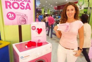 Romacho utilizará sus lavadoras para desteñir de rosa la ropa de sus clientes, con motivo del Día del Cáncer de Mama