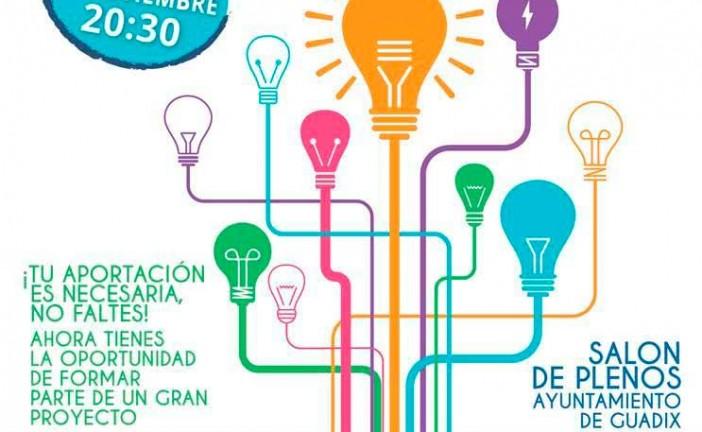 Lluvia de ideas por Guadix y su desarrolllo