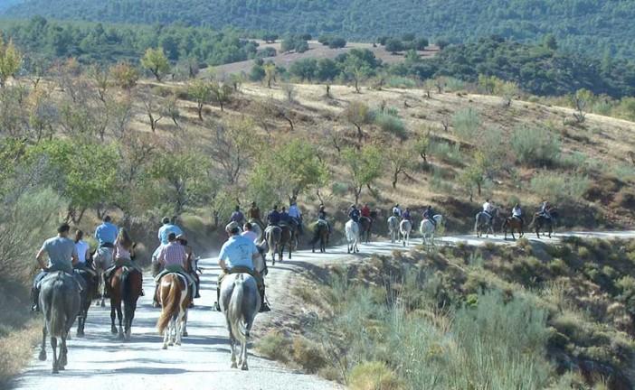 Ruta ecuestre de La Peza, primer itinerario homologado por la RFHE @GDR_GUADIX
