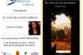 """Nueva novela de la escritora Concha Casas, """"El pozo de los recuerdos"""""""