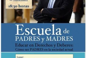 Escuela de padres con el Juez Calatayud el próximo jueves en el CEP de Guadix
