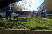 Los Bomberos de Guadix sofocan un incendio declarado en una vivienda de la Barriada de Andalucía