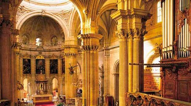 Interior de la catedral de Guadix