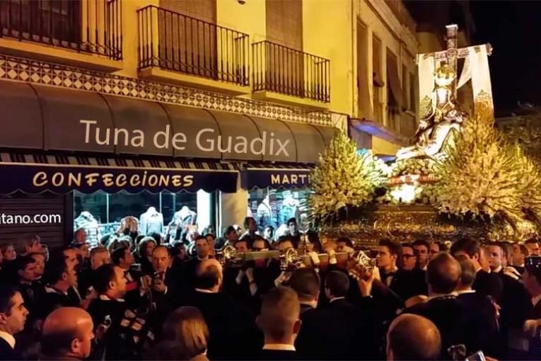 Tuna de Guadix y la Virgen de las Angustias