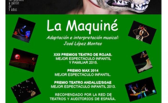 """El espectáculo infantil """"El bosque de Grimm"""" de la compañía La Maquiné llega el lunes 7 de diciembre a Guadix"""