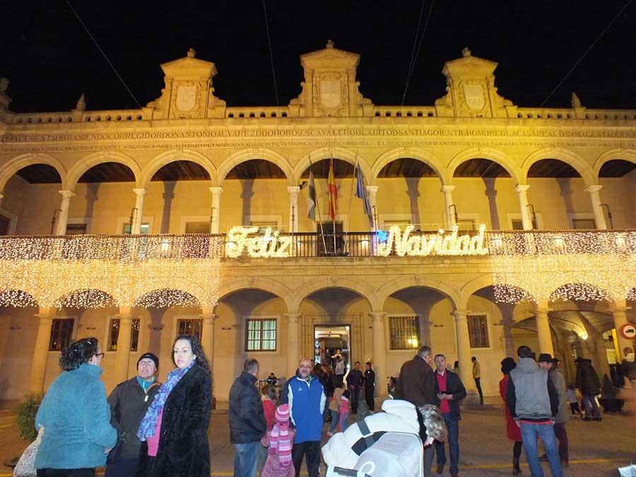 Luces de Navidad en Guadix
