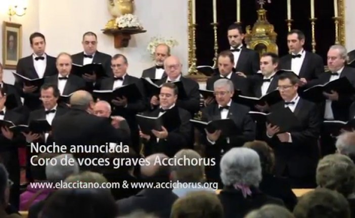 Accichorus, Coro Maria Briz, Damon Robinson & Friends, Banda Sinfónica Municipal y Coral Acyda, y Orquesta Filarmonía de Granada grandes conciertos para la Navidad de Guadix [Vídeos]