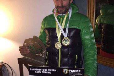 Manuel Jabalera se proclama campeón de España y Pepillo subcampeón de Andalucía de snowrunning