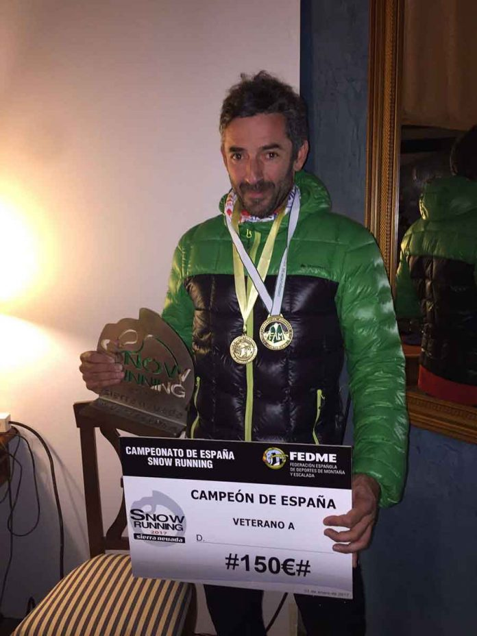 Manuel Jabalera campeón de España