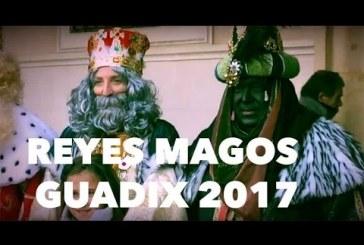 Cabalgata Reyes Magos de Guadix 2017 [Vídeos]