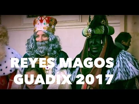 Reyes magos Guadix 2017