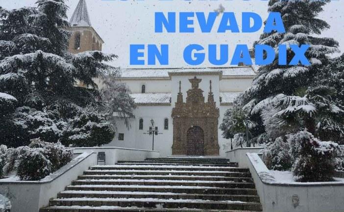 Espectaculares imágenes de la nevada en Guadix