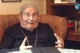 Don Ignacio Noguer el que fuera obispo de Guadix protagonista del programa Testigos Hoy de Canal Sur