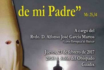 Charla formativa para cofrades en Guadix