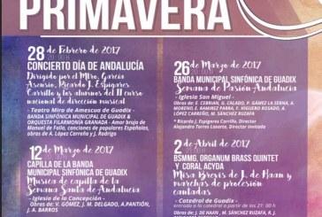 Ciclo de Primavera de la Banda Sinfónica Municipal de Guadix