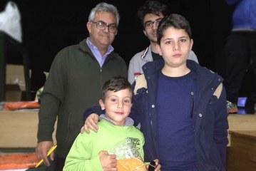 Dos escolares accitanos: Ignacio Ros y Alonso Rivera becados para los campeonatos de Andalucía de ajedrez