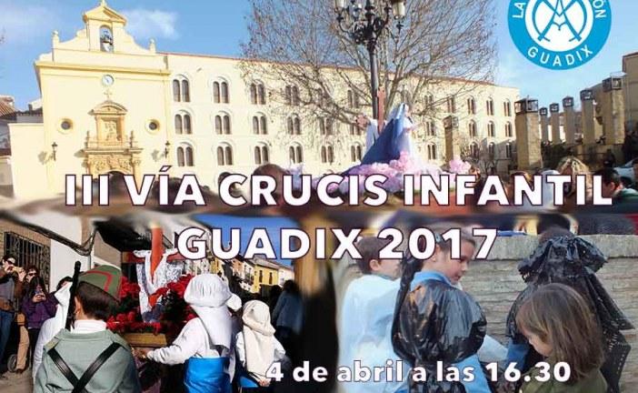 III Vía Crucis Infantil en Guadix organizado por el Colegio de La Presentación