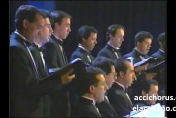 Coro María Briz y Accichorus ofrecen un concierto sacro en San Miguel el próximo 6 de abril