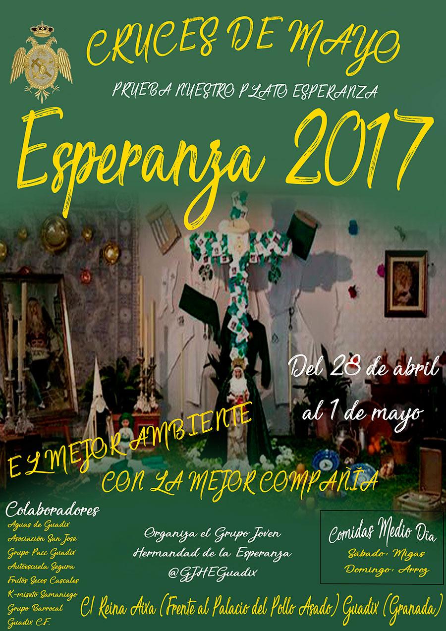Cruces de Mayo: Esperanza 2017