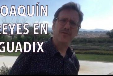 El humorista Joaquín Reyes promociona Guadix tras pasar unos días en nuestra ciudad [Vídeo]