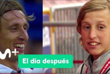 """Carlos futbolista accitano del Granada CF aparece en el programa """"El día después"""" en la sección lo que el ojo no ve"""