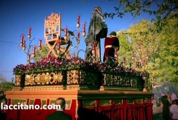 """Semana Santa de Guadix 2017 """"Pasión y Rosario"""" realiza su estación de penitencia por segundo año [Vídeos] @Rosario_Guadix"""