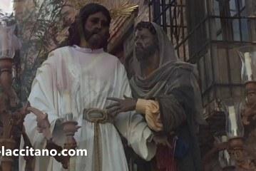 La Hermandad de la Estrella y el Señor de la Salud cierran el Domingo de Ramos en Guadix [Vídeos]
