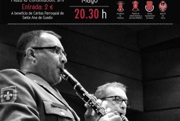 La Unidad de Música de la Academia de Infantería ofrece un concierto benéfico en Guadix el 17 de mayo