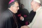 El Papa recibe a los miembros de la Secretaría para la Comunicación del vaticano, entre los que está el obispo de Guadix