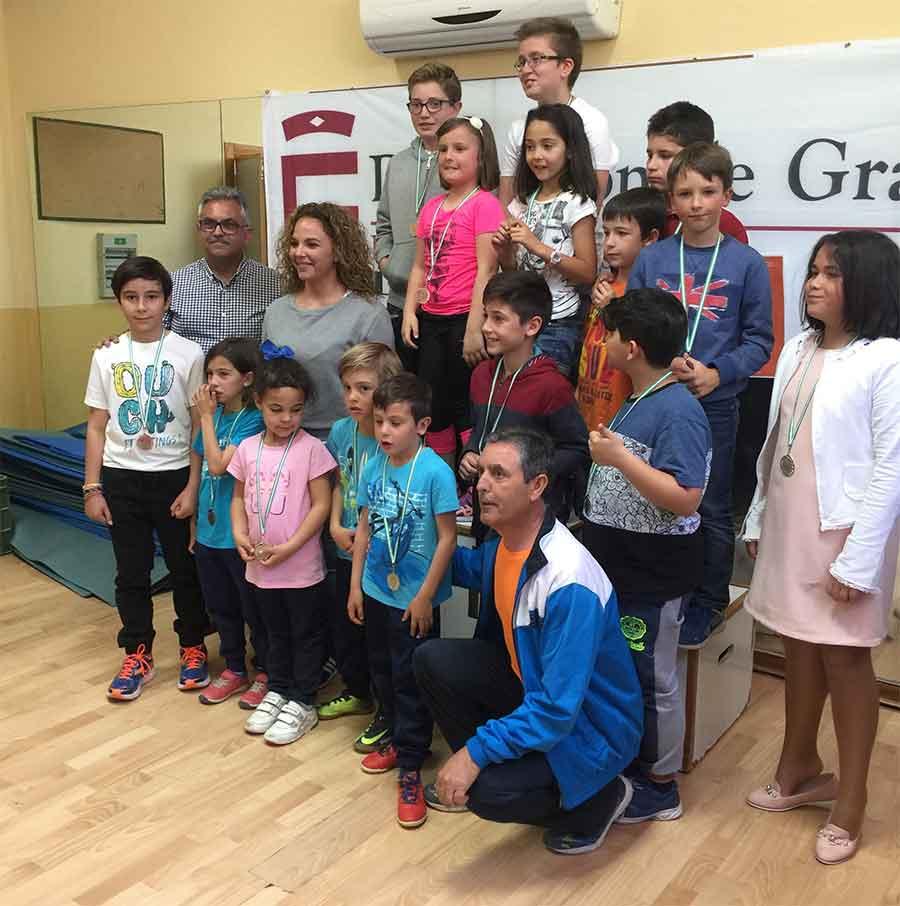 Ganadores del torneo de ajedrez
