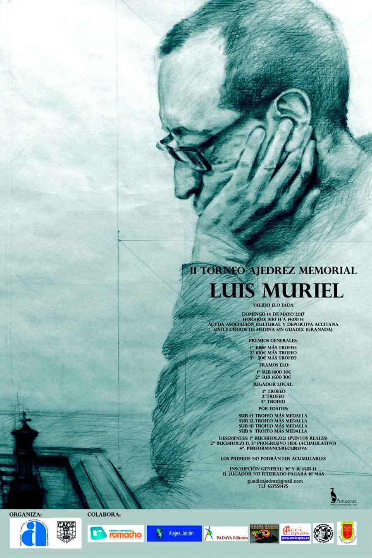II Memorial de ajedrez Luis Muriel