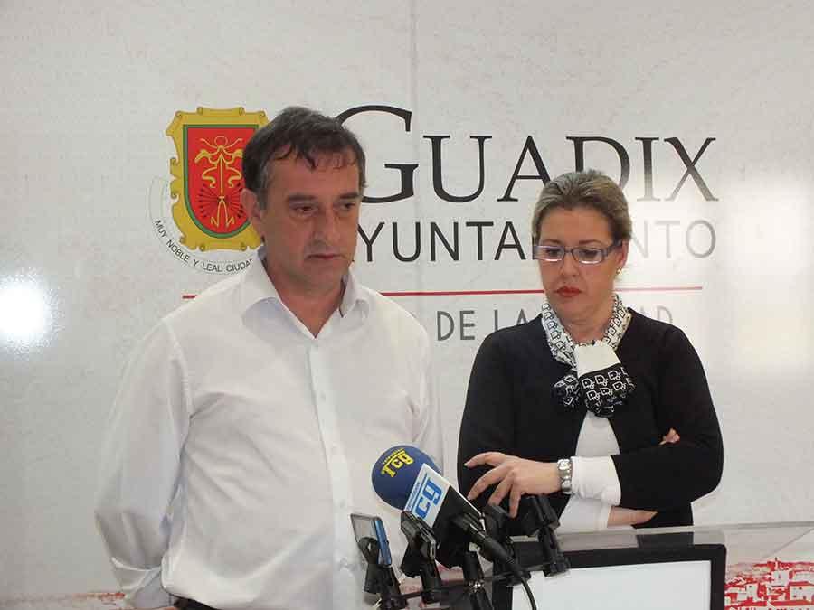 Inmaculada Olea y Manuel Vidal