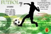 Torneo de Fútbol 7 organizado por el Ayuntamiento en las categorías senior, cadete, infantil y alevín