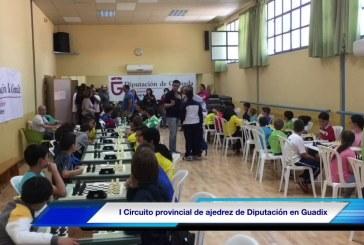 9 accitanos suben al podium en el Circuito provincial de Ajedrez de Diputación celebrado en Guadix [Vídeo]
