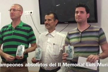 """El gran maestro del ajedrez José Carlos Ibarra se alza con el triunfo en el II Memorial de ajedrez """"Luis Muriel"""""""
