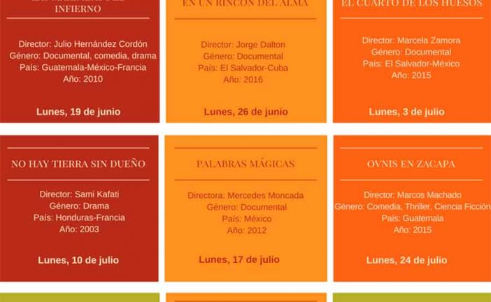 Cine en Guadix – Ciclo centroamérica siglo XXI